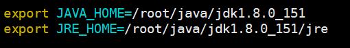 指定JDK和JRE的位置